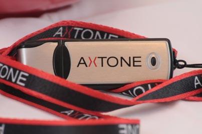 Nowe logo firmy AXTONE