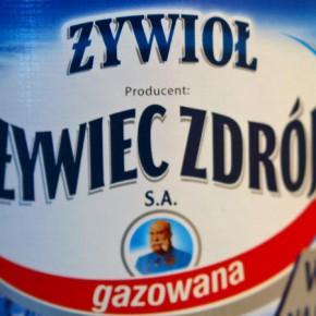 Rebranding Żywiec Zdrój. Żywioł - nowa marka na rynku wód.