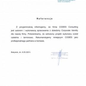Referencje EC Białystok