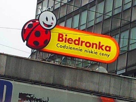 Rebranding biedronka